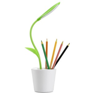 Harga lampu meja touch sensitive dimmable dengan pen holder   light | HARGALOKA.COM