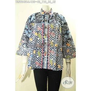 Harga model batik wanita blouse keren tampil modis kekinian size l | HARGALOKA.COM