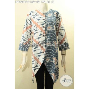 Harga tren batik blouse wanita model trendy motif kekinian size l | HARGALOKA.COM