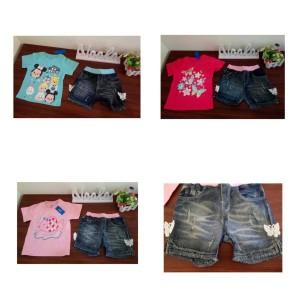 Harga pakaian anak   setelan anak perempuan 2in1 gw 244 8 13 | HARGALOKA.COM