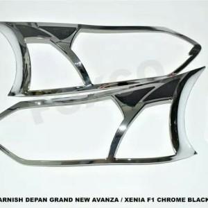 Harga garnish lampu depan grand new avanza model f1 komb | HARGALOKA.COM