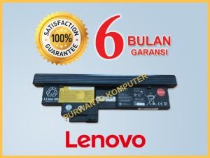 Harga original baterai laptop lenovo thinkpad x200t x201t tablet     HARGALOKA.COM
