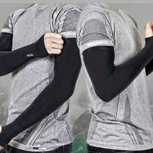 Harga manset tangan outdoor korea lets slim aqua x cool   beige     HARGALOKA.COM
