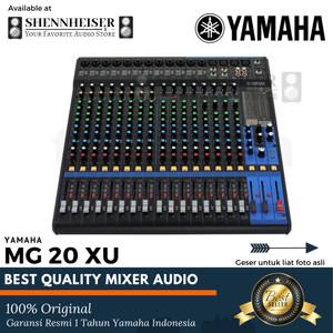 Harga mixer yamaha mg 20 xu original garansi yamaha indonesia | HARGALOKA.COM