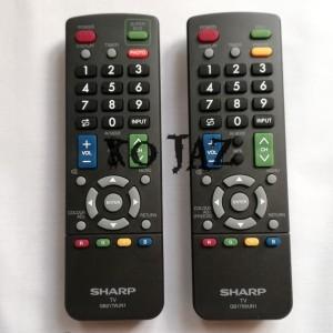Harga remote lcd led tv sharp ori 100 | HARGALOKA.COM