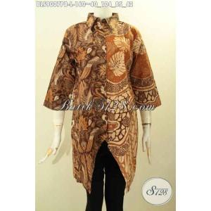 Harga blouse batik kerja wanita model paling baru saat ini size l | HARGALOKA.COM