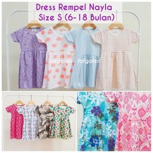 Harga dress nayla 6  18 bulan   baju anak perempuan model lucu harga | HARGALOKA.COM