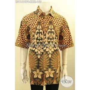 Harga kemeja batik lengan pendek pria gemuk tren terbaru size xxxl | HARGALOKA.COM