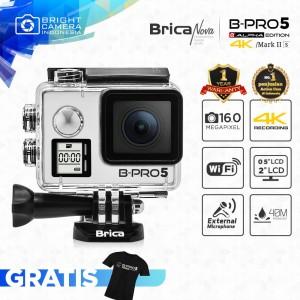 Harga brica b pro 5 alpha edition mark iis 4k   silver   garansi | HARGALOKA.COM
