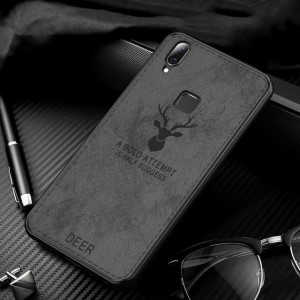 Harga deer case vivo v11 pro softcase hard casing hp back cover leather tpu   deer | HARGALOKA.COM