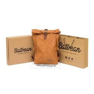 Harga rolltop backpack catbean tas ransel kulit pria limited edition | HARGALOKA.COM