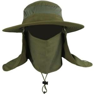 Harga topi rimba topi mancing topi gunung topi outdoor topi uv topi fullface   hijau | HARGALOKA.COM