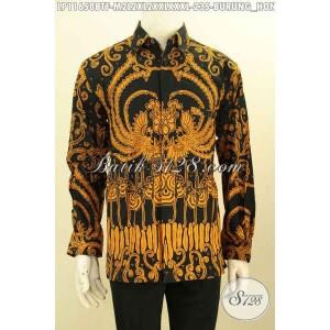 Harga baju batik panjang kerja furing motif unik size m l xl xxl | HARGALOKA.COM