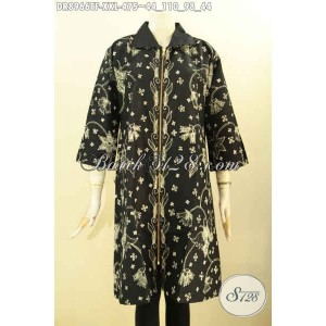 Harga busana kerja wanita gemuk dress batik model terbaru size xxl | HARGALOKA.COM