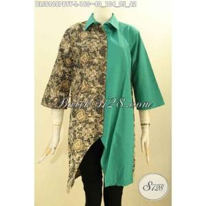 Harga blouse batik modern lengan perempuan masa kini size l | HARGALOKA.COM