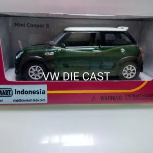 Harga diecast mini cooervs warna hijau | HARGALOKA.COM