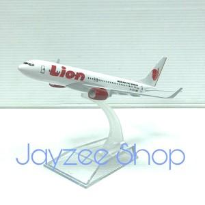 Harga pesawat diecast miniatur besi lion | HARGALOKA.COM
