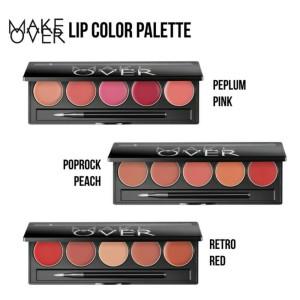 Harga make over lip color palette 100   HARGALOKA.COM