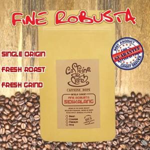 Harga kopi robusta sidikalang 100 gr  fine robusta  bean biji amp ground bubuk   coarse   | HARGALOKA.COM