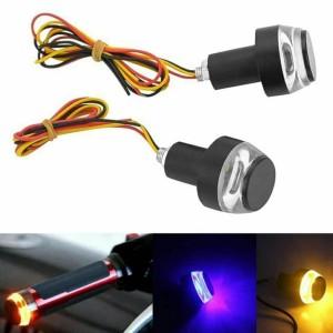 Harga lampu drl sen jalu stang motor handle bar alumunium untuk touring | HARGALOKA.COM