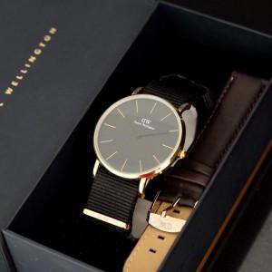 Harga grosir jam tangan dw 2 tali fashion pria | HARGALOKA.COM