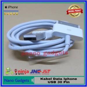 Harga fast charger kabel data iphone 3 gs 4 4c 4g 4s ipad 1 2 3 oem | HARGALOKA.COM