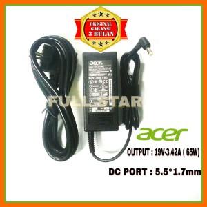 Harga adaptor charger original acer aspire 4738 4738z 4741 4741g 4752   HARGALOKA.COM