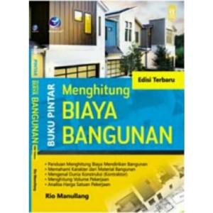 Harga buku buku pintar menghitung biaya bangunan edisi | HARGALOKA.COM