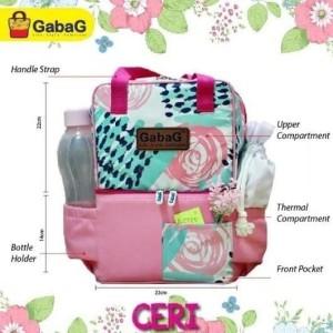 Harga gabag cooler bag tas pendingin asi ibu menyusui   pop series     HARGALOKA.COM