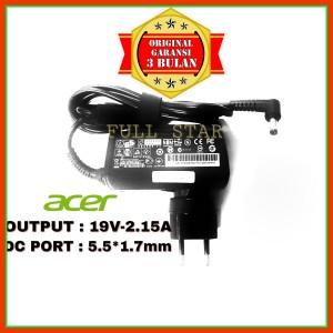 Harga adaptor charger original netbook acer aspire one v5 121 v5 122 | HARGALOKA.COM