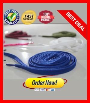 Harga tali sepatu flat pipih variasi warna untuk sneaker   flat | HARGALOKA.COM