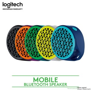 Harga logitech x50 mobile wireless speaker   | HARGALOKA.COM