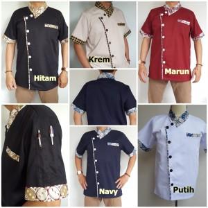 Harga baju chef kombi batik model a | HARGALOKA.COM