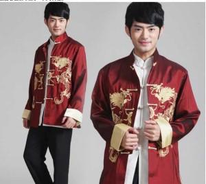 Harga man c 022 baju kostum cheongsam pria 2 naga pakaian tradisional china   | HARGALOKA.COM