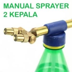 Katalog Alat Semprot 2 Kepala Sprayer Head Hand Pump Multifungsi Katalog.or.id
