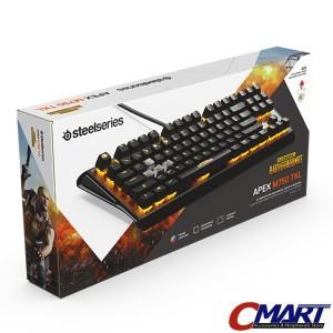 Harga steelseries apex m750 tkl pubg edition rgb gaming keyboard     HARGALOKA.COM