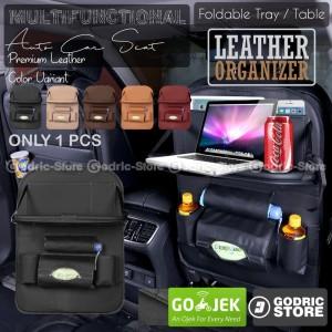Katalog Godric Leather Premium Meja Foldable Auto Car Organizer Tas Jok Kulit Katalog.or.id