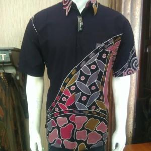 Harga baju kemeja batik pria batik tulis lukis lengan pendek motif k terbaru   sesuai gambar | HARGALOKA.COM