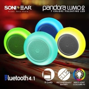 Harga speake sonicgear pandora lumo 2   built in multi color lights effects   | HARGALOKA.COM