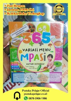 Harga buku 365 variasi menu mpasi untuk setahun   tanti enggar   | HARGALOKA.COM