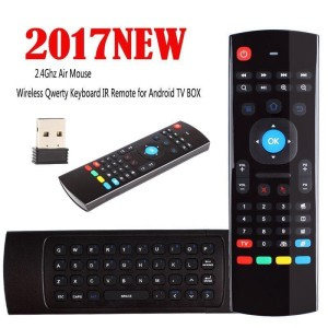 Harga mini wireless keyboard fly air mouse remote gyroscope for android | HARGALOKA.COM