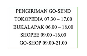 Harga jadwal pengiriman via | HARGALOKA.COM