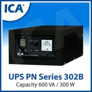 Harga ups ica pn series 302b pn302b 600va 300w line interactive | HARGALOKA.COM