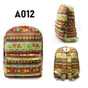 Harga tas ransel impor backpack murah tribal light | HARGALOKA.COM