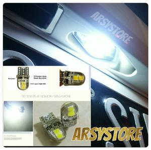 Harga Lampu Led T10 Rotary 3014 24 Canbus Metal Soket Senja Plat Motor Mobil Katalog.or.id