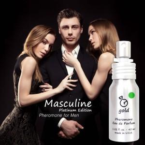 Harga parfum pria pemikat lawan jenis masculine gold | HARGALOKA.COM