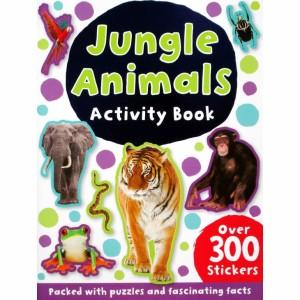 Harga jungle animals sticker activity book with 300 | HARGALOKA.COM