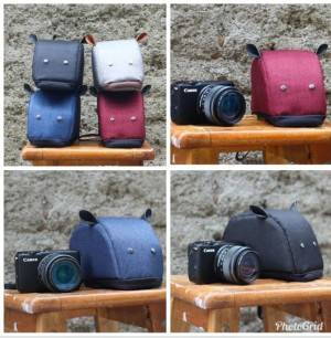 Harga tas kamera mini mirrorless fuji sony olympus canon nikon mouse   | HARGALOKA.COM
