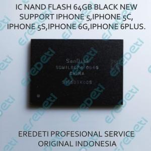 Harga ic nand flash 64gb black new support iphone 5 5c 5s 6 6plus | HARGALOKA.COM