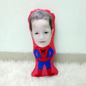 Harga bantal boneka foto karikatur custom   large spiderman 50cm | HARGALOKA.COM